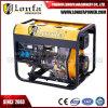 Tiger 4 kVA/4kw en fil de cuivre de type ouvert Groupe électrogène Diesel