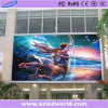 La publicité fixe polychrome extérieure d'affichage vidéo de mur de P16 DEL