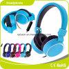 青い普及した高品質の卸売のステレオのヘッドホーンのヘッドホーン