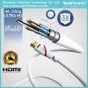 Золото покрыло кабель локальных сетей HDMI поддержек