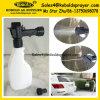 Pulvérisateur en plastique de mousse d'extrémité de boyau de grand de flux noir de 1h20