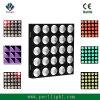 Blinder 25PCS LED RGB de 9 W Audiência tricolor luz de efeito de matriz