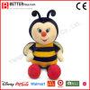 아이를 위한 안전한 물자 박제 동물 연약한 견면 벨벳 꿀벌 장난감