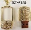 Disco de destello del USB de la joyería (JST-FJ25)