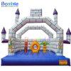子供のための膨脹可能な娯楽空気警備員の城