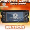 크라이스라 아스펜 2006-2009년을%S GPS 항법을%S 가진 WITSON 차 DVD
