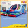 Aufblasbares X-Lane Obstacle Course für Amusement Park