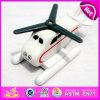 Brinquedo de avião de madeira brandnew 2016, brinquedo de avião de madeira, avião de brinquedo para crianças, brinquedo plano de madeira lindo W04A207