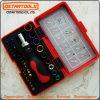 Ensemble d'outils à main à bascule à cliquet multifonction 46PCS et jeu d'outils à main à douille