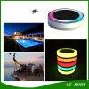 Outdoor IP68 lumière à LED RVB solaire flottant avec télécommande pour piscine