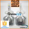 DC11-30V Philips Chips LED Headlight H7 25W Super Slim Auto Headlight