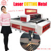 Machine de découpage en aluminium de laser d'acier inoxydable