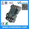 Miniature General Purpose 300VAC 10A distant électrique ferroviaire plastique solide Etat relais Socket