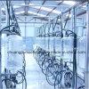 Sala de ordeño de la maquinaria agrícola lechera