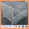 Foldable Warehouse Industrial Storage Heavy Duty Galvanized Wire Cage