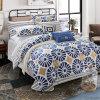 Design clássico de roupa de cama de algodão barato Consolador Conjunto da Tampa