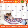 Casa ecológica de papel tapiz decorativo para la habitación de los niños