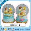 Poli globo della neve di amore della resina, sfera dell'acqua (HG151)