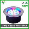 좋은 품질 18W RGB LED 지하 빛