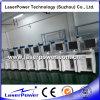 máquina de la aguafuerte del laser de la fibra de 10W 20W 30W para el tubo del PVC
