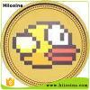 Venta directa de fábrica de monedas de juego de Metal Wholesalegold Eagle Volver monedas y copias personalizadas de monedas