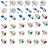 6/8/10mm Gq6/8/10b-D/J/Cr Vandal Resistant Metal Ball Push Button Switch