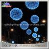 2015 새로운 파란 공 모양 크리스마스 요전같은 끈 빛 공