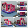 Preiswertes Commercial Inflatable Bouncer Combo, Pink Combo Slide für Girl B2195
