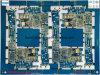 Cobre de color azul Soldermask HDI PCB con oro de inmersión