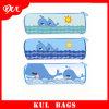 (KL1304) Azul Cicloidal Lápiz Bolsa Elemento Marino Lápiz de la Historieta Bolsas para los Niños