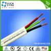 Двойной Core провод массы ПВХ изоляцией плоский TPS медного кабеля