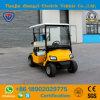 Carro de golf eléctrico vendedor caliente de los asientos de Zhongyi 2 para el centro turístico