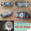Bomba hidráulica 705-55-43000 de Wa470 Wa480 para as peças do carregador