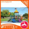 O Ce aprovou a corrediça ao ar livre plástica do campo de jogos do equipamento do parque de diversões