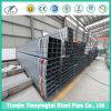 Tubo de acero sumergido caliente de Galvanzied para el material de construcción