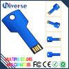 Carte mémoire Memory Stick de lecteur flash USB de forme de clé en métal de promotion
