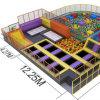 Größte Trampoline wird in unserer Firma, größter Trampoline-Park hergestellt