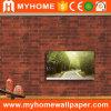 Hauptwände des dekor-roter Ziegelstein-Großverkauf-3D Wallcovering