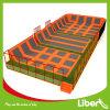 Corte do Trampoline das crianças do retângulo de Liben grande