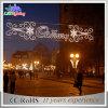 Réverbère solaire de rue de la décoration moderne imperméable à l'eau extérieure DEL de Noël