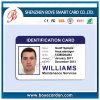 인쇄할 수 있는 PVC 사진이 부착된 신분증 카드