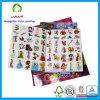 Libro profesional de la etiqueta engomada de los niños de la impresión