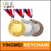 Medalla de metal con Deportes personalizada 3D Logo Grabado