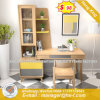 Forniture di ufficio di vetro del metallo della scrivania del quadro superiore (HX-8ND9647)