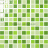 اللون الأخضر [4مّ] زجاج فسيفساء بلّوريّة لأنّ داخليّة مطبخ تصميم