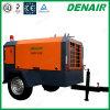 400 Cfm direktes gefahrenes bewegliches Dieselschleppseil hinter Drehschrauben-Luftverdichter