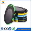 Cargador solar impermeable al aire libre de la batería LED de la potencia 5000mAh para el móvil