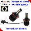 Novo todos em um driver integrado do Barramento CAN H13 Carro Lâmpada LED