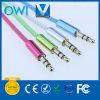 Farbe vier 3.5mm bis 3.5mm elastisches Audiokabel