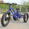 方法48V 500Wペダルが付いている大人の脂肪質のタイヤの貨物三輪車3の車輪の電気三輪車